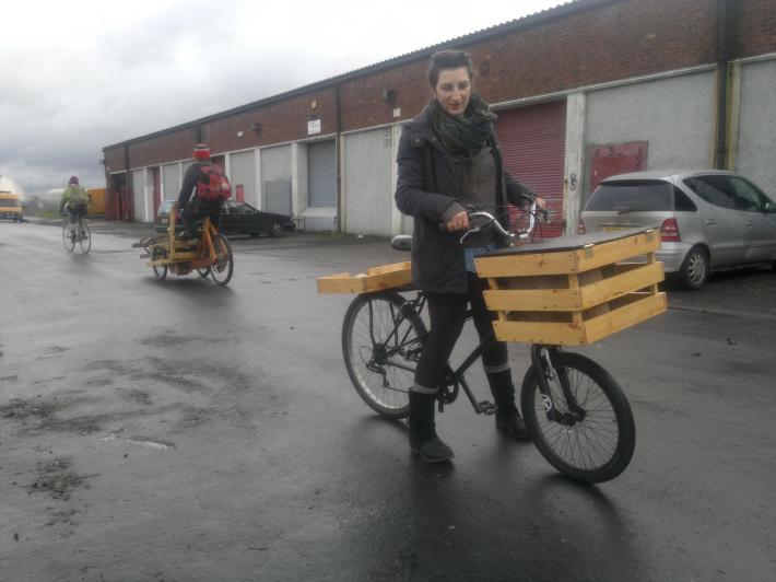 Butchers Fruit Bike